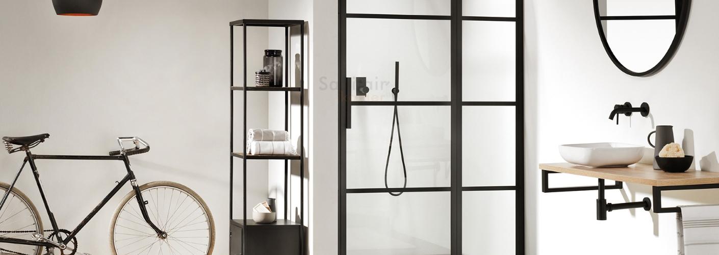 Badkamerstijlen: de industriële badkamer