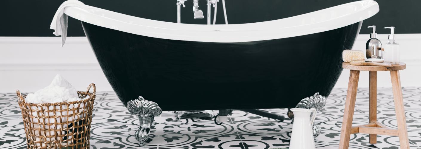 Badkamerstijlen: de landelijke badkamer
