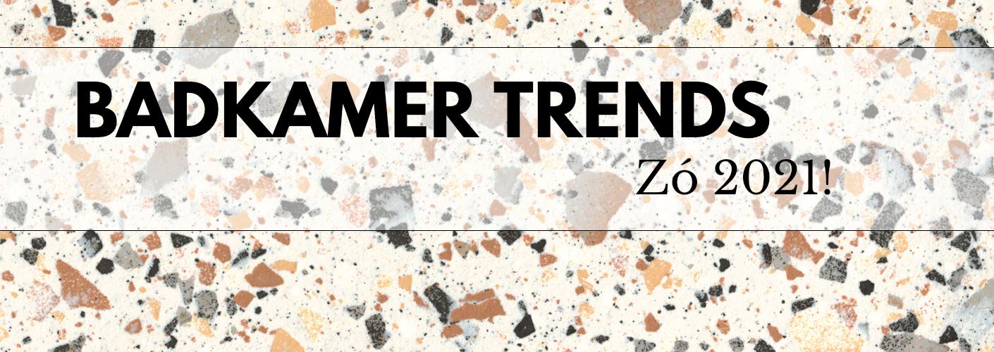 De terrazzo trend in de badkamer