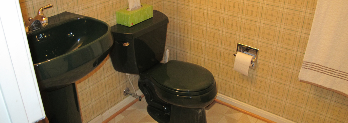 De lelijkste badkamers