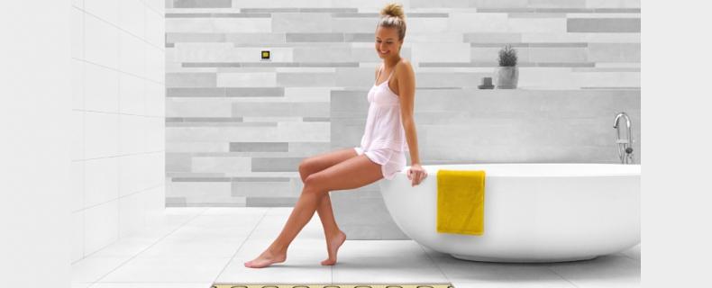 Elektrische vloerverwarming in de badkamer, nooit meer koude voeten!