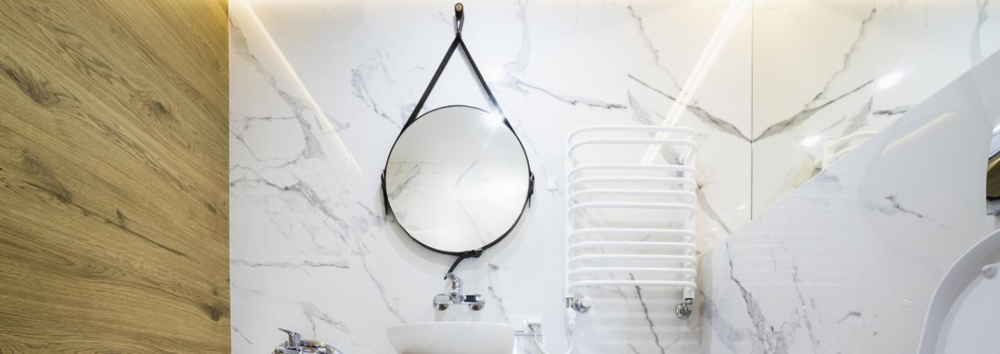 Zo Hang Je Een Badkamer Spiegel Op