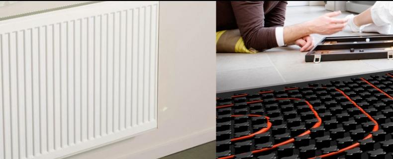 Radiatoren of vloerverwarming? De voor- en nadelen
