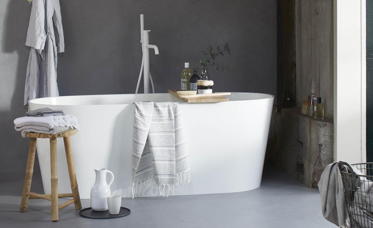 VT Wonen in de badkamer