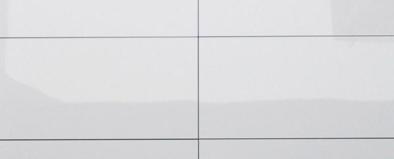 Wat is een gerectificeerde tegel?