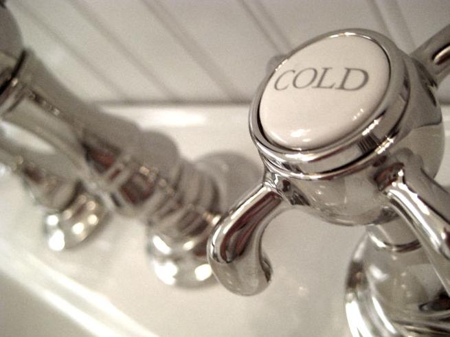 koud water gebruiken