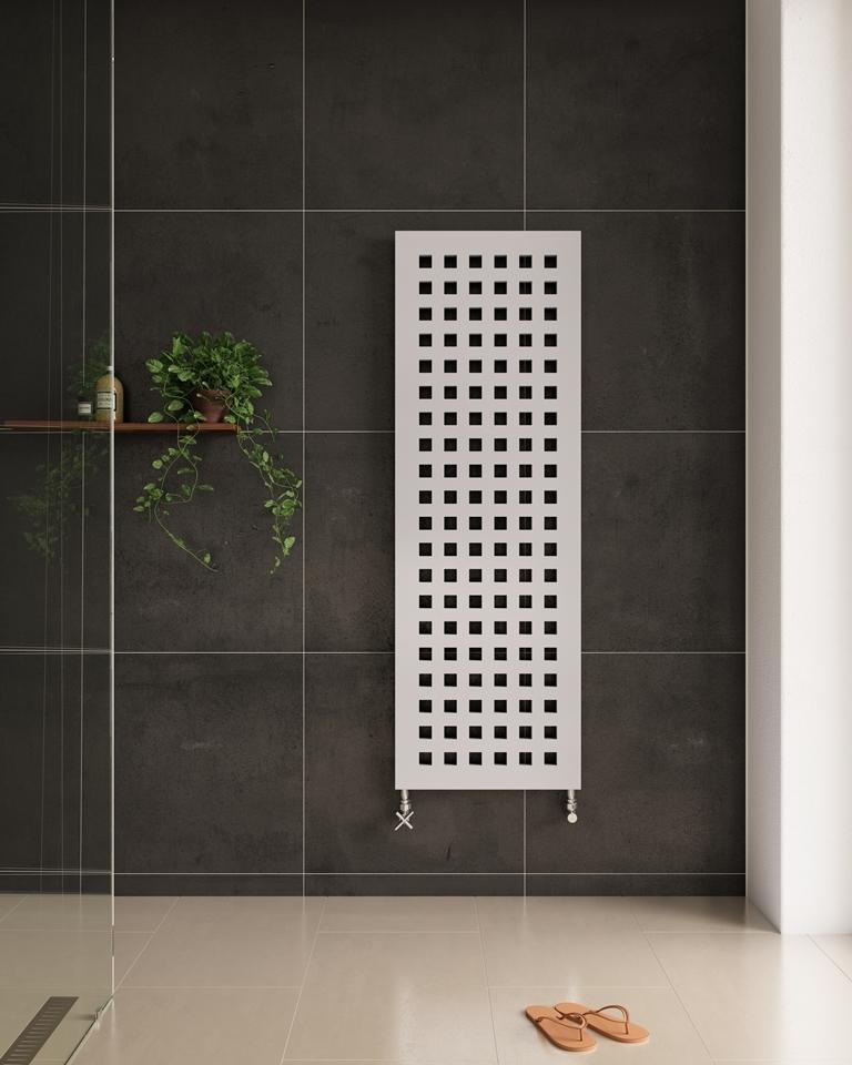 radiator verwarming in badkamer