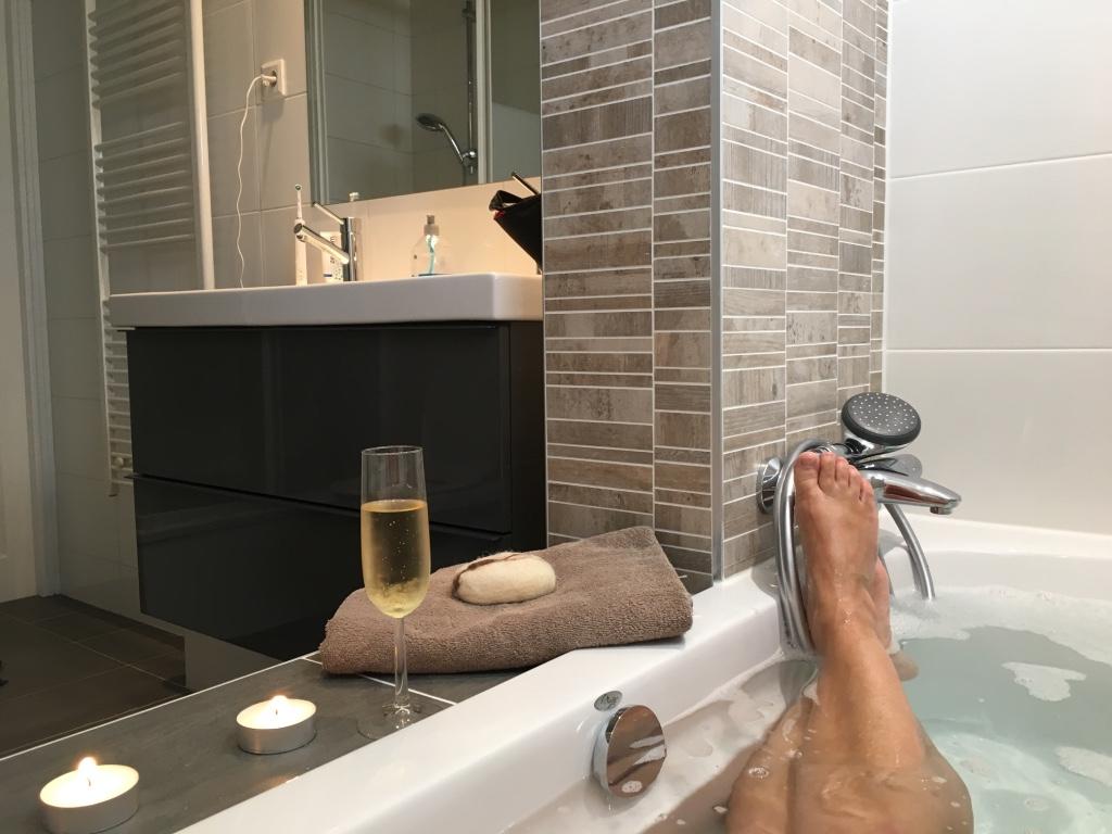 badkamer met badstee