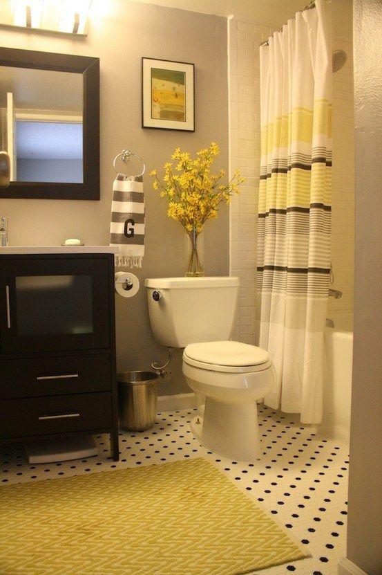 frisse kleuren in badkamer