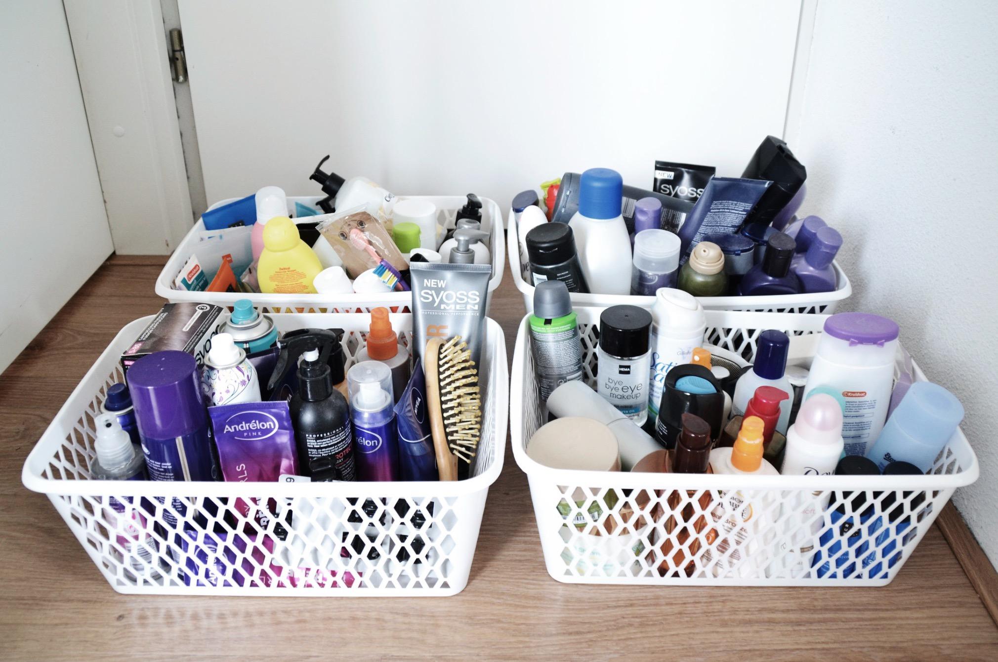 gesorteerde badkamer