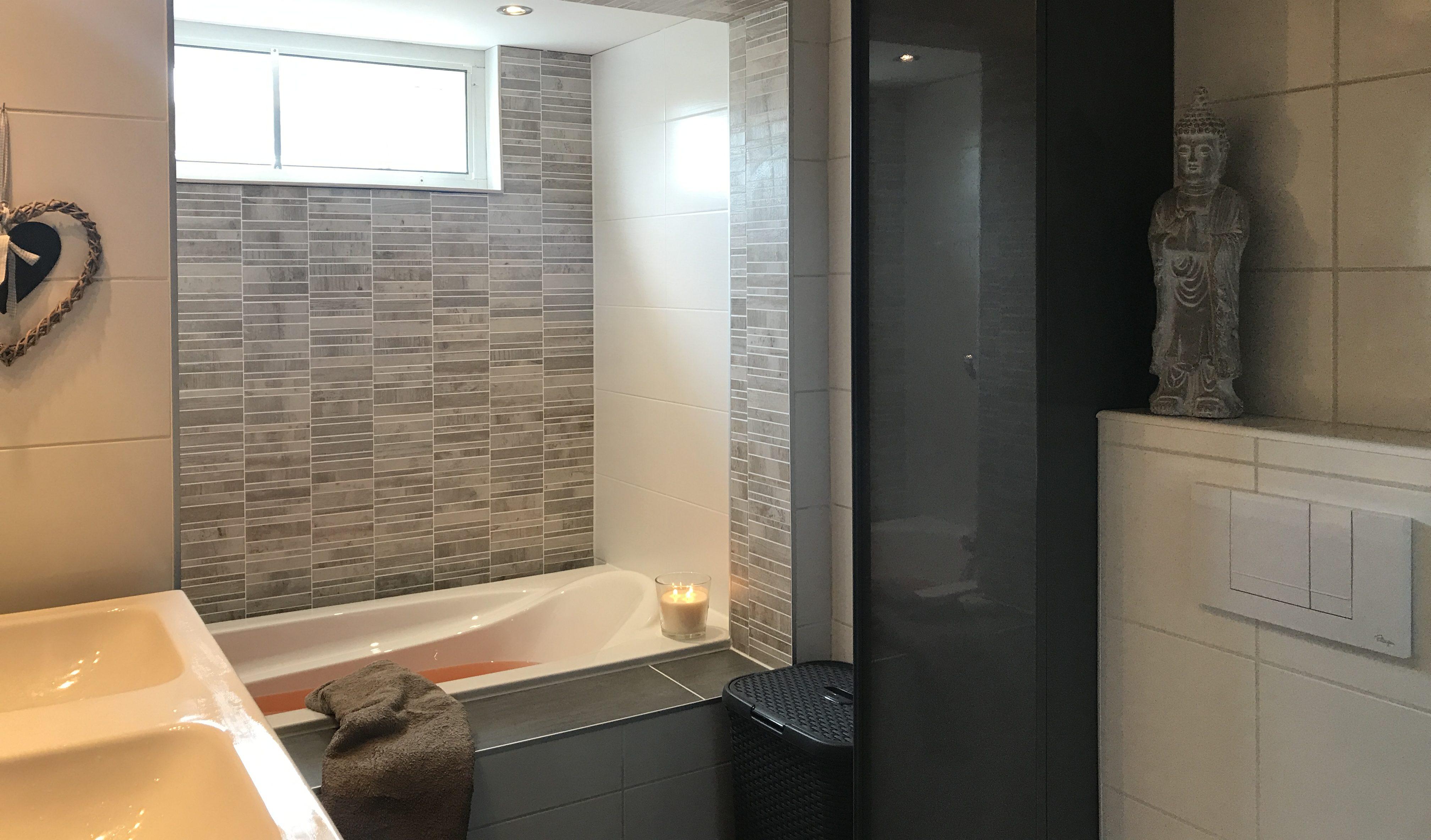 badkamer met nieuw bad