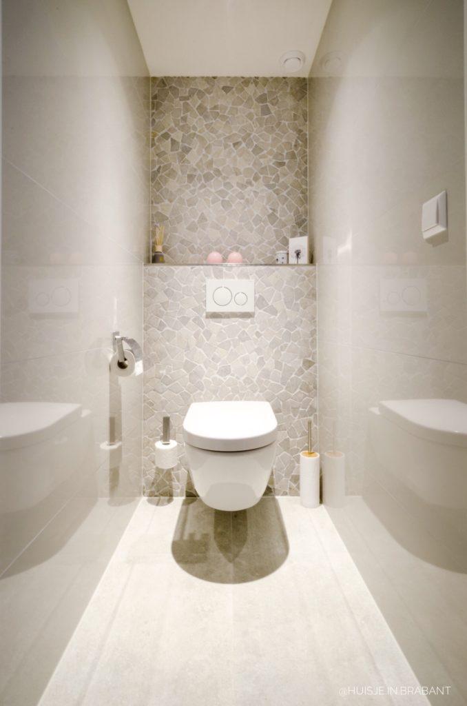 badkamer met apart toilet