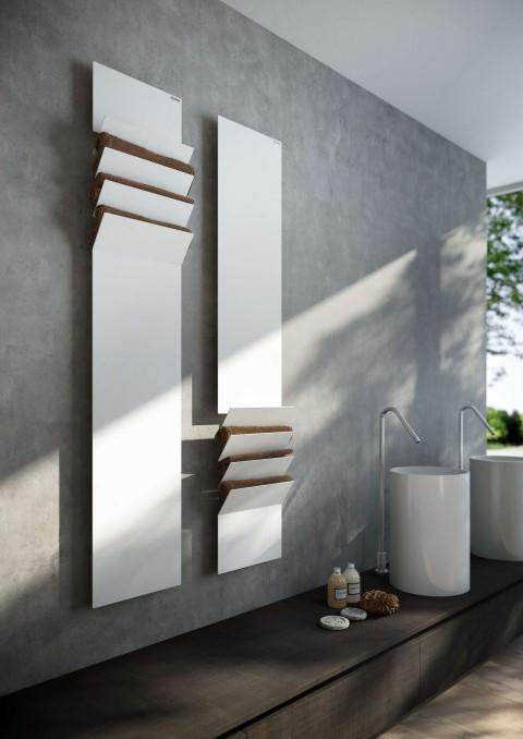 stijlvolle moderne verwarming badkamer