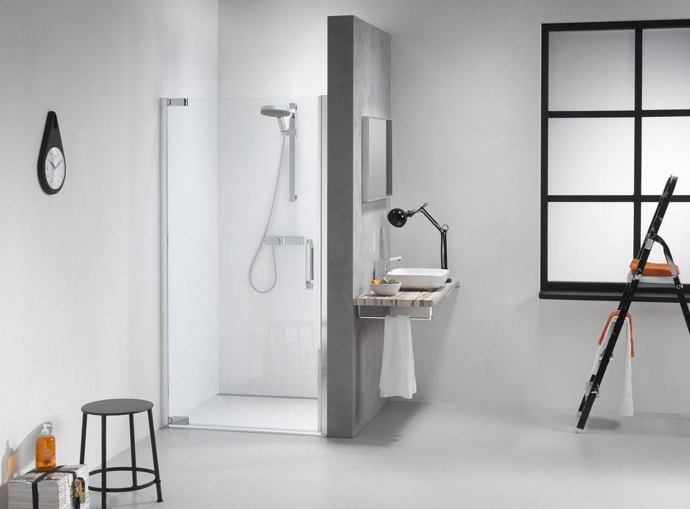 douchewand schoon maken reinigen
