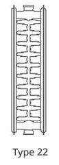 radiator type 22