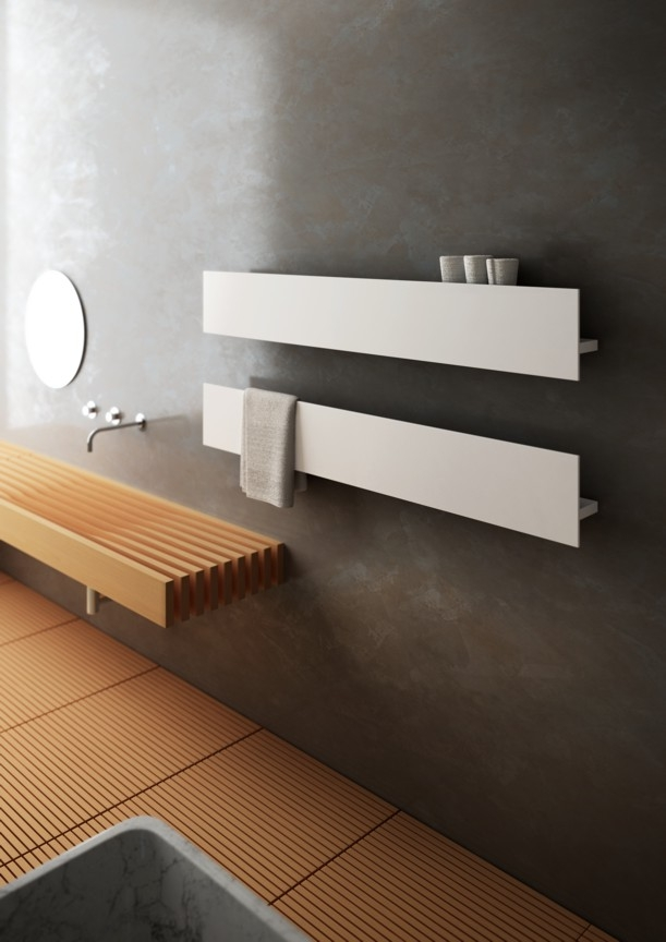 badkamer radiator verwarming modern