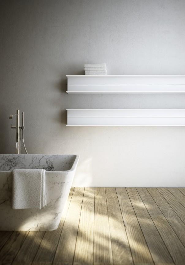 stijlvolle radiator badkamer