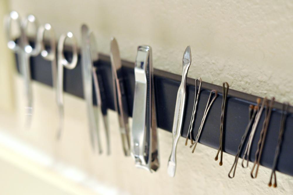magneet opbergen badkamer