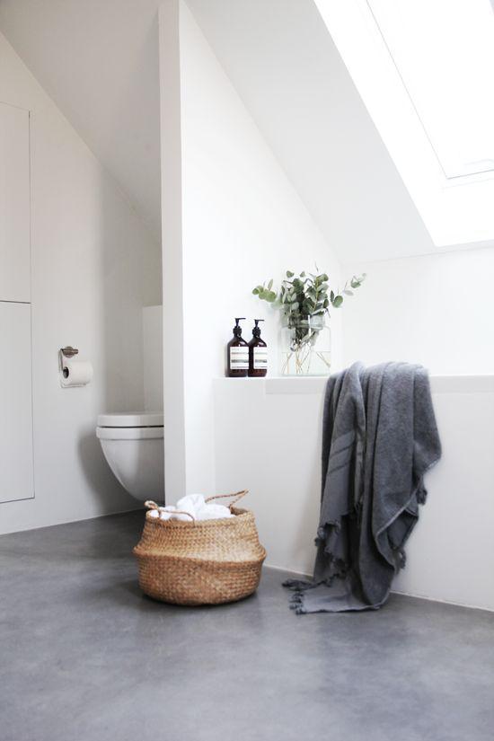 wat te doen met schuin dak in badkamer