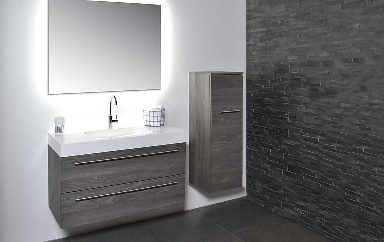 Badkamermeubel met spiegel