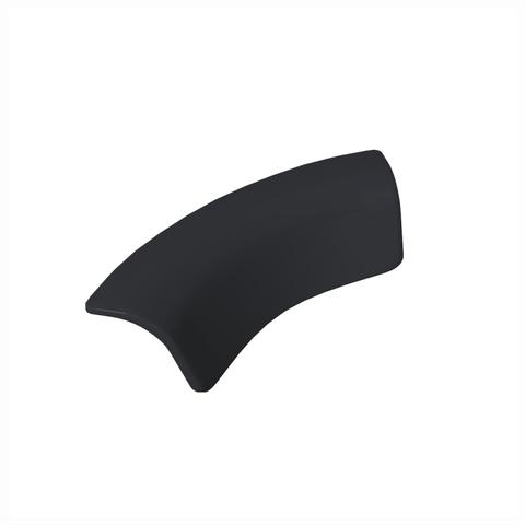 Blinq Columbus badkussen 38x27x13 cm. zwart