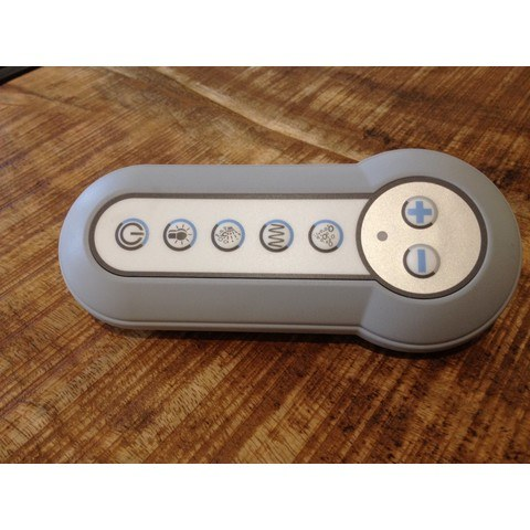 Villeroy & Boch Comfort Control afstandbediening voor Whisper Combipool