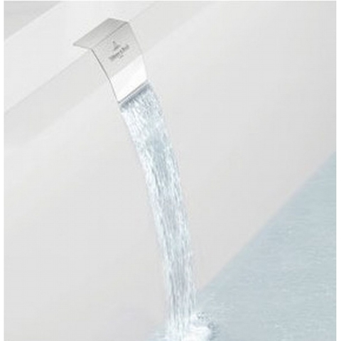 Villeroy & boch Squaro edge 12 watertoevoer geïntegreerd in overloop