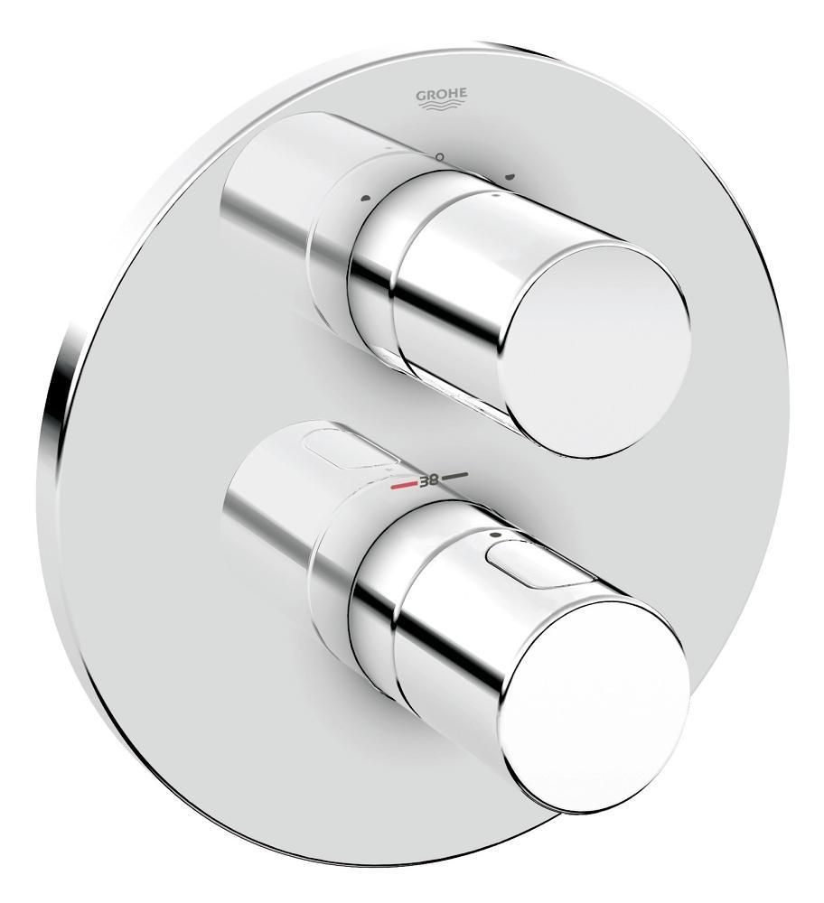 Grohe Grohtherm 3000 Cosmopolitan afdekset voor inbouwthermostaat chroom