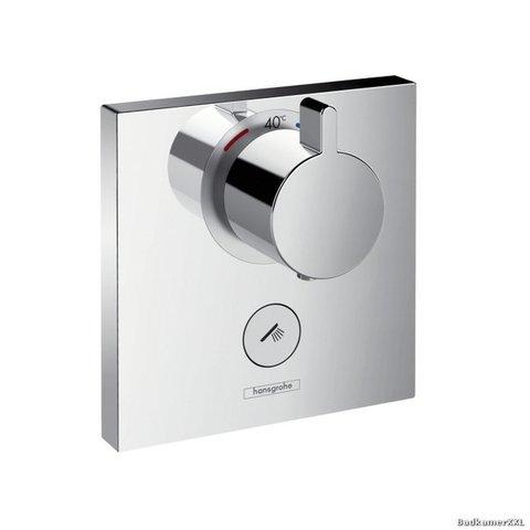 Hansgrohe Showerselect afdekset highflow thermostaat met 1 stopfunctie chroom