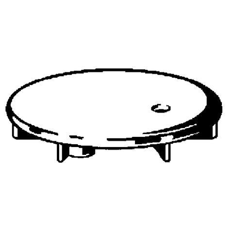Viega Domoplex afdekset voor doucheafvoer chroom