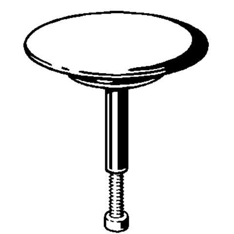 Viega  kegel kunststof chroom