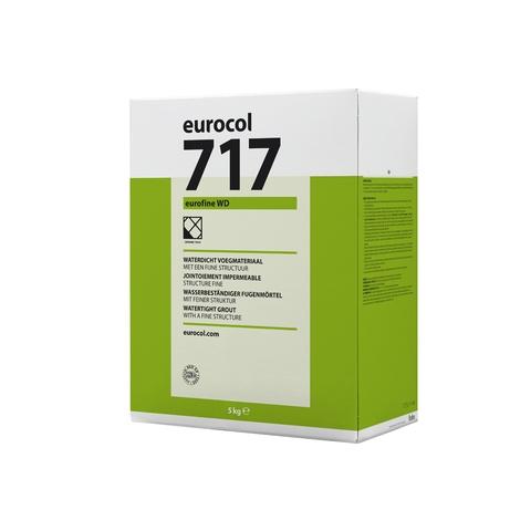 Eurocol 717 Eurofine WD voegmiddel - 5 kg - zilvergrijs