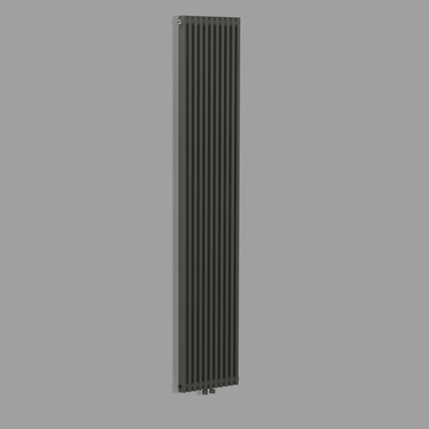 Blinq Bunol radiator 38x182 cm 1249w antraciet