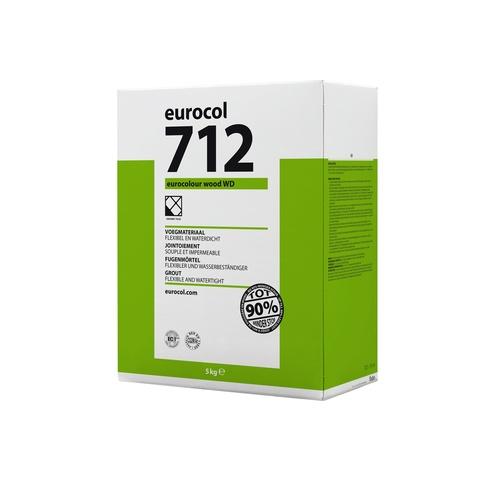 Eurocol 712 Eurocolour Wood Wd voegmiddel - 5kg - silver