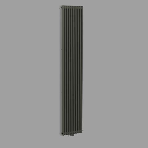 Blinq Bunol radiator 49x182 cm 1535w antraciet