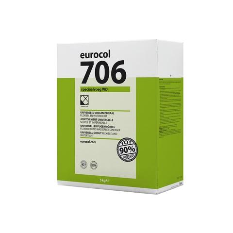 Eurocol 706 Speciaalvoeg WD - 5 kg - basaltgrijs