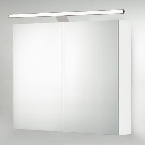 Blinq Gefion led verlichting 120 voor spiegelkast met driver chroom