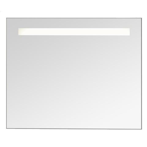Blinq Nelid spiegel 80x80 met sensor+indirecte verl.baan boven