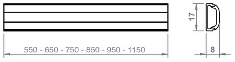 Blinq Gefion indirecte led verlichting 95 met kabel en driver