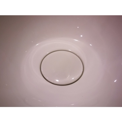 Blinq Ispra kap v.afvoerplug voor wastafel lt-3133 wit