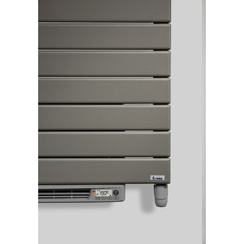 Vasco Aster Hf-El-Bl electr.radiator m/blower 600x1805 n27 2250w grey anthracite 9827