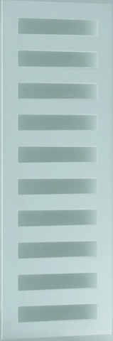 Blinq Arkose radiator 600x1470 mm. n9 as=50 mm. 714w charcoal