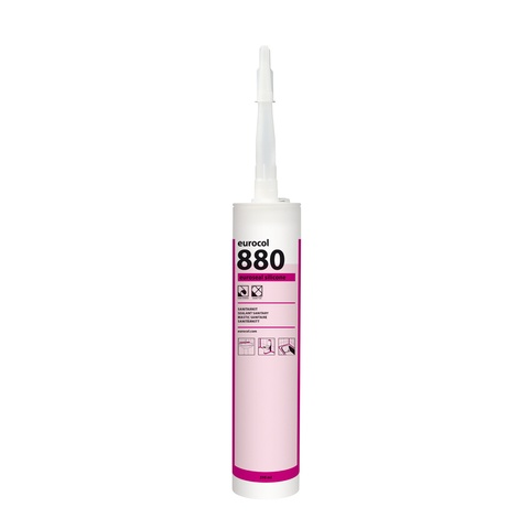 Eurocol 880 Euroseal siliconen sanitairkit - 310 ml - zilvergrijs