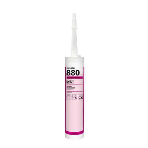 Eurocol 880 Euroseal siliconen sanitairkit - 310 ml - transparant grijs