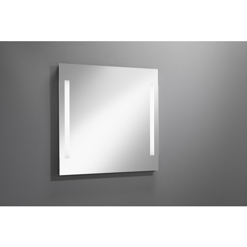 Blinq Gefion spiegel 80x80 cm. met led verlichting verticaal