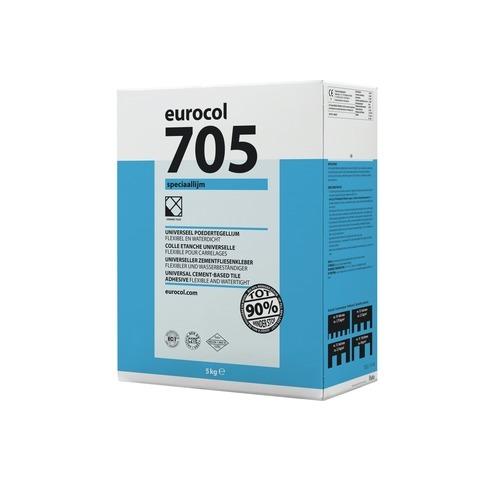 Eurocol 705 Speciaal tegelpoederlijm - zak 5 kg grijs