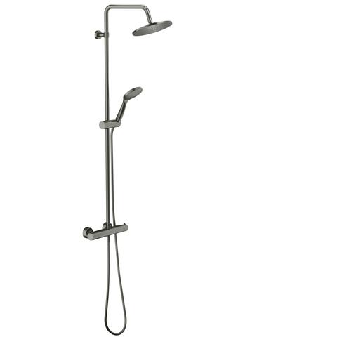 Blinq Wera showerset met thermostaat staal