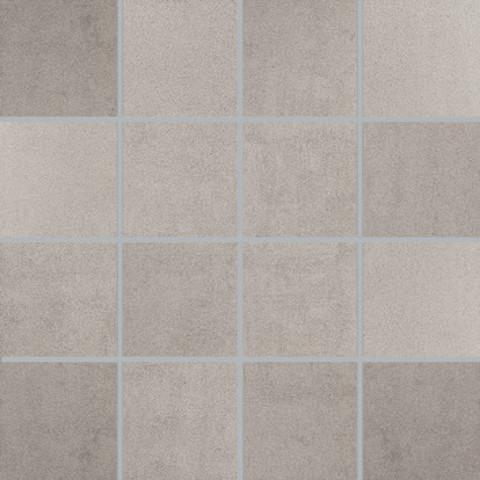 Villeroy & Boch Pure Line tegelmat 30 x 30 cm. blok 7.5 x 7.5 cm. a 11 stuks licht grijs