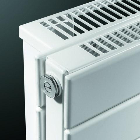 Vasco Viola H2l2-Ro radiator 1000x433 mm. n12 as=0026 1350w wit ral 9016