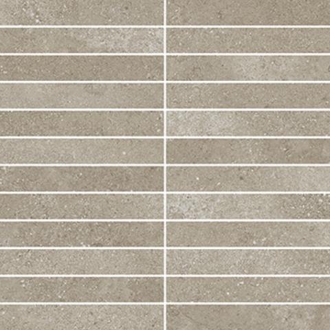Villeroy & Boch Hudson tegelmat 30x30 cm. blok 2,5x15 a 11 stuks clay
